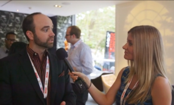 lush interviewing expert at content marketing world