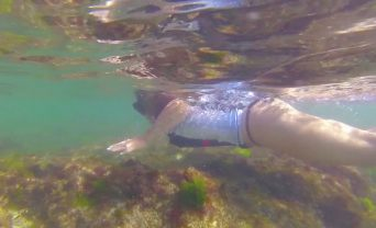Hero vest underwater video production perth