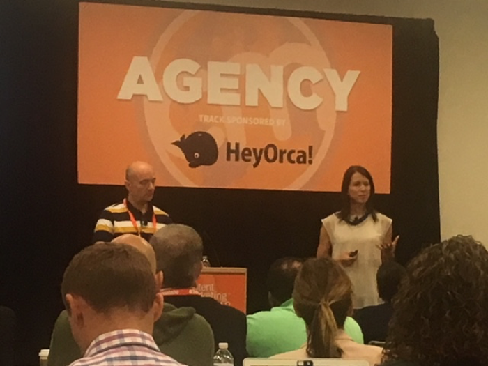 Content Marketing World 2018, client-agency partnerships